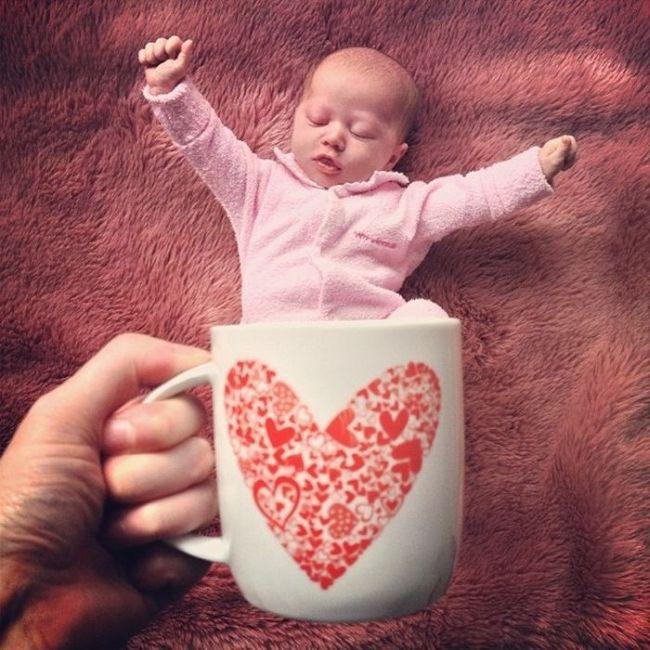 гамма прикольные фото младенцев в домашних условиях сравнению обычной