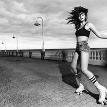 Crystal Renn for Harper's Bazaar Spain