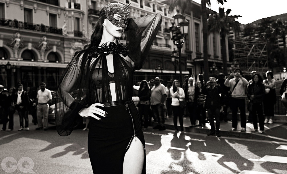 Обнажённая Lana Del Rey