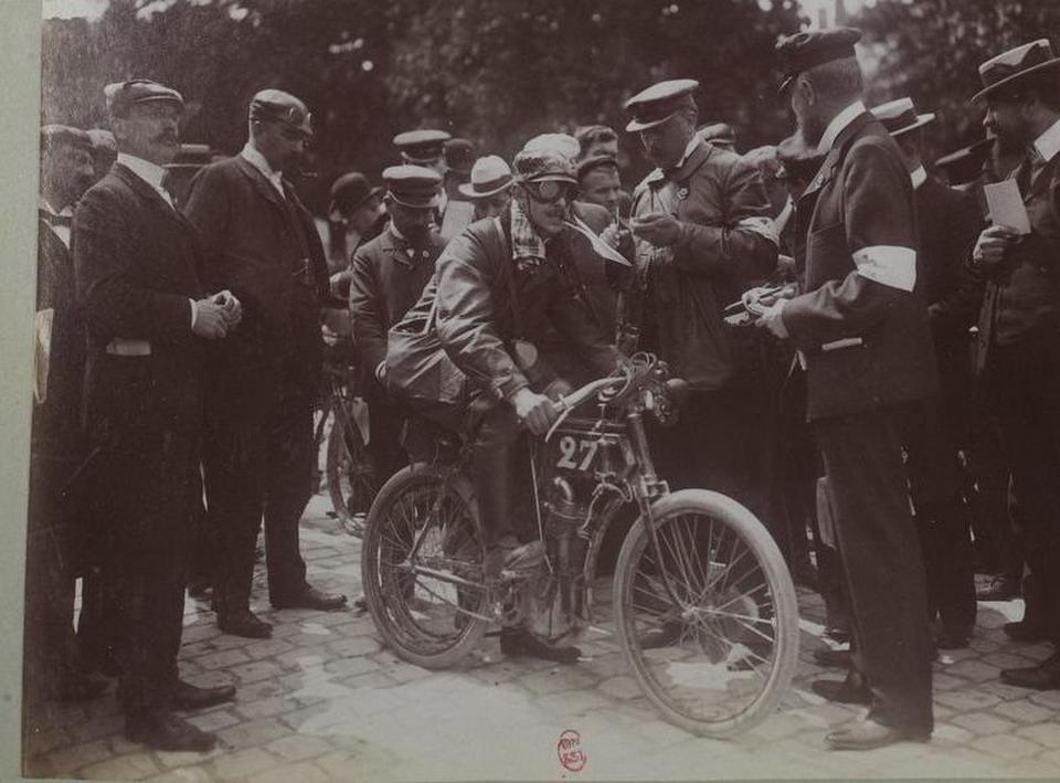 Автомобильные гонки в начале 20-го века