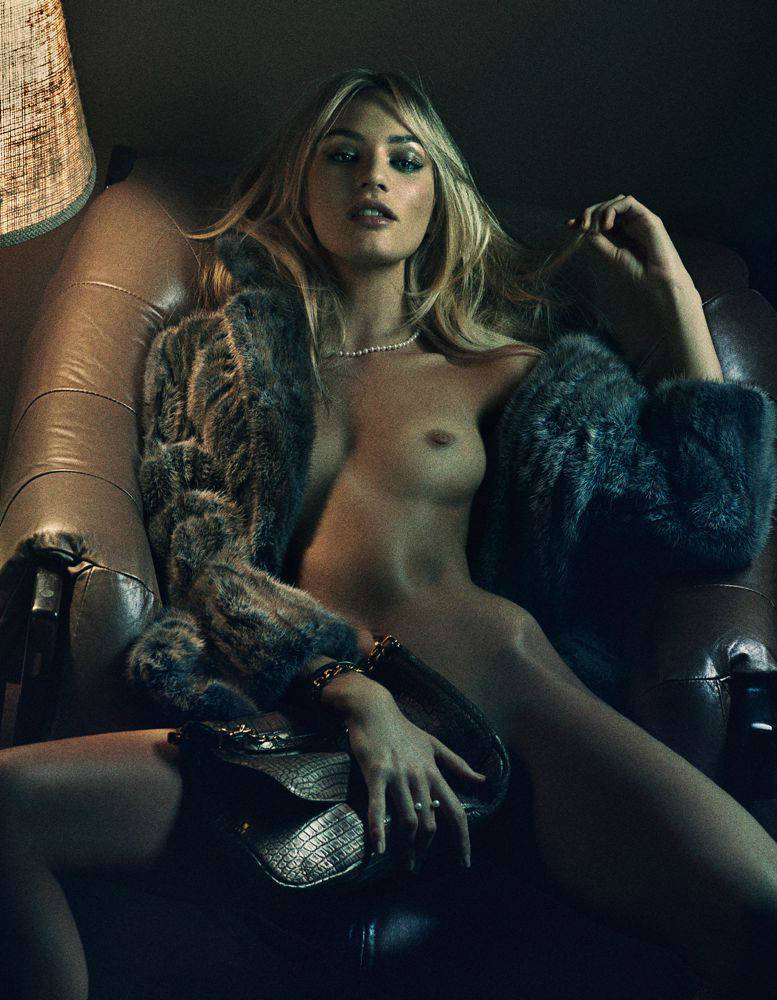 Magazine Topless Photoshoot