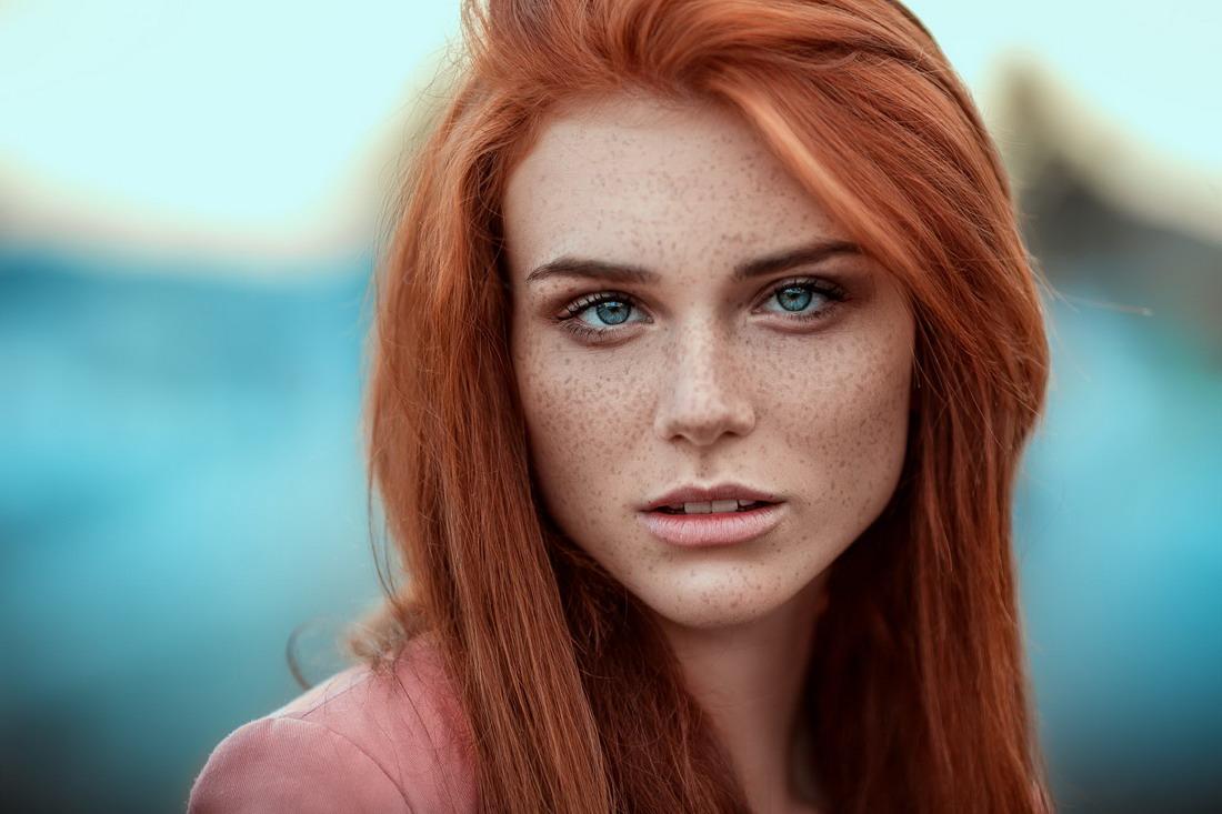 Фотографии рыжих красивых девушек 19 фотография