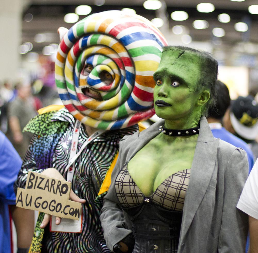 Девушки с San Diego Comic Con 2013