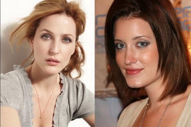 Знаменитые девушки и их порно-двойники