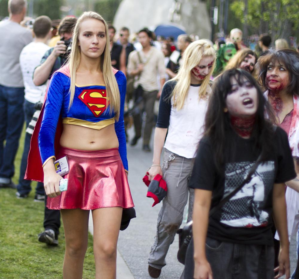 San Diego Comic Con 2013 Zombie Walk
