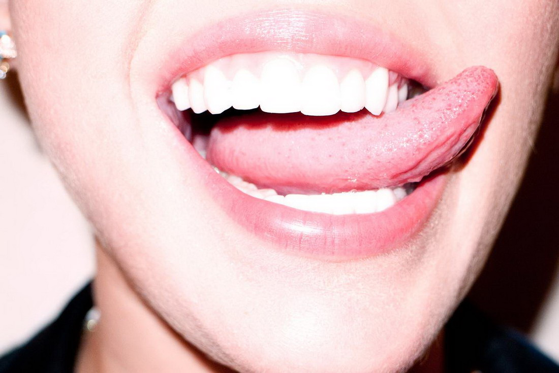 Miley Cyrus – Braless See-Through Photoshoot by Terry Richardson