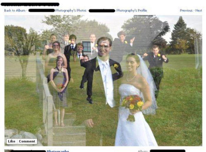 Ужасно отретушированные фотографии