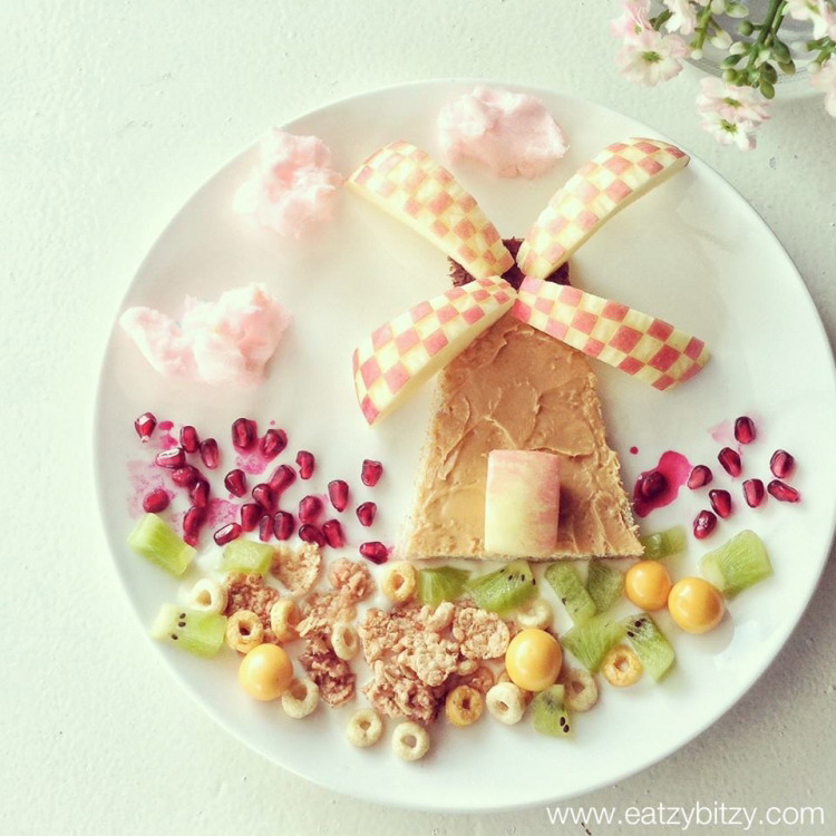 Высокохудожественные детские завтраки