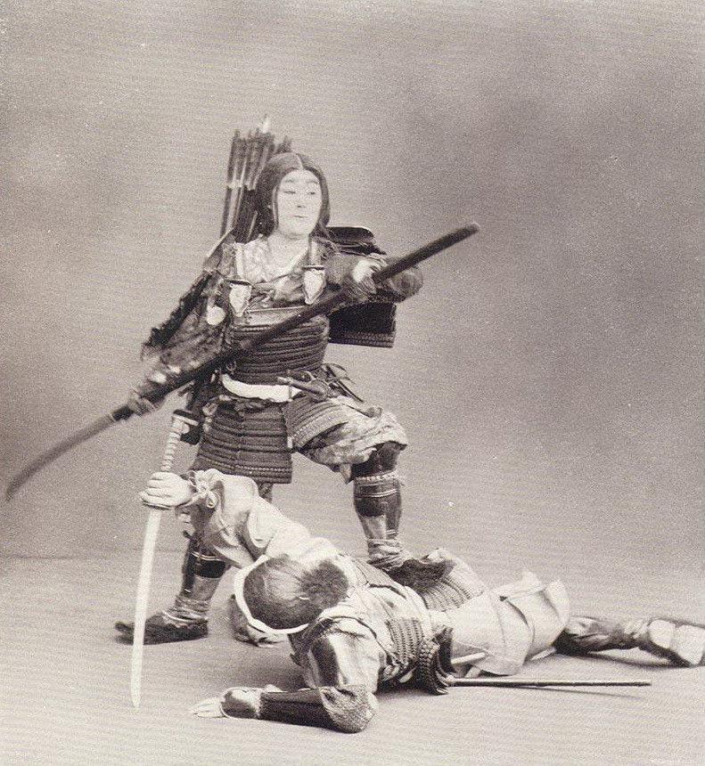 Аутентичные Фото реальных самураев