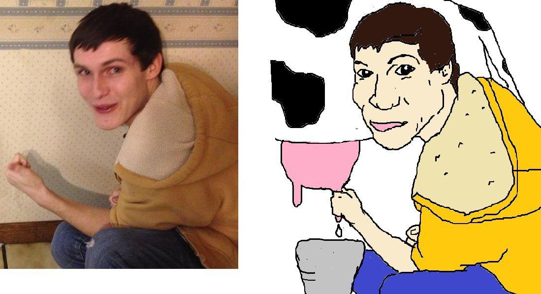портреты фолловеров из twitter