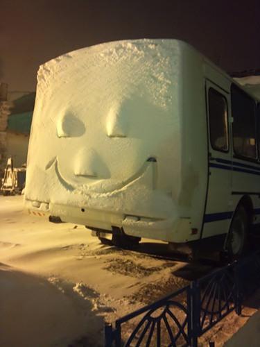 Зима разбушевалась