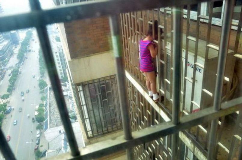 Девушки в неловких ситуациях