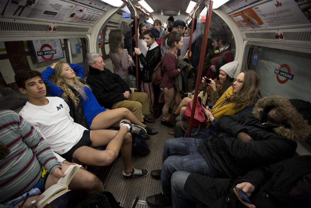 Global No Pants Subway Ride