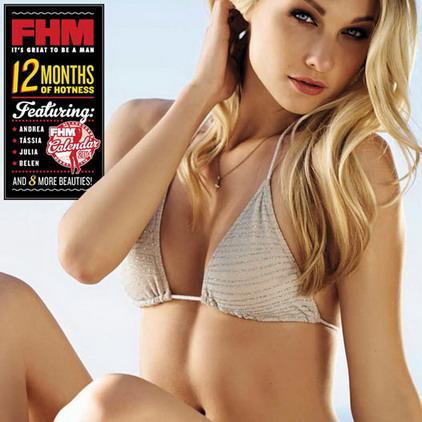 Календарь журнала FHM