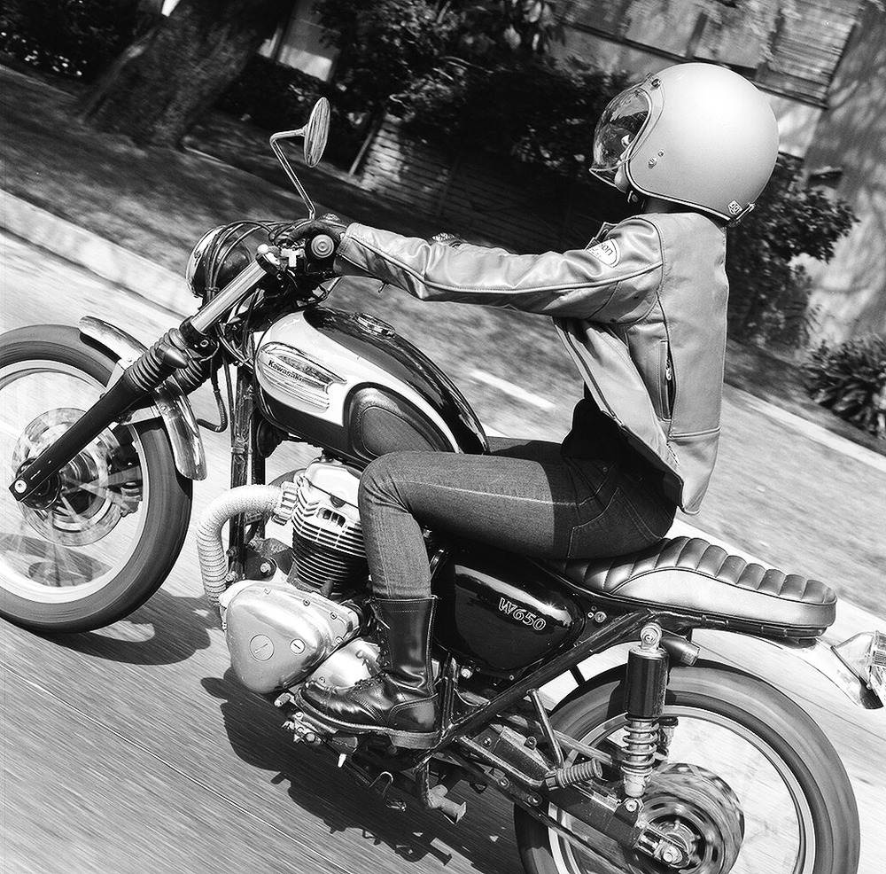 Woman's Motorcycle