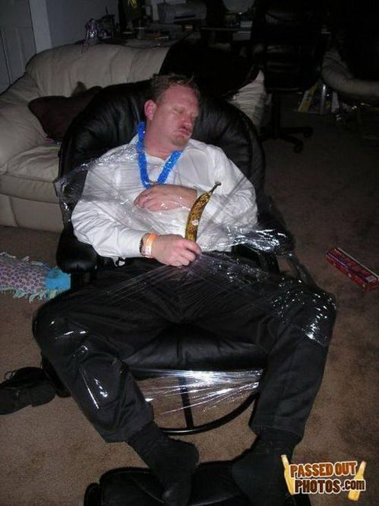 Спящая жертва