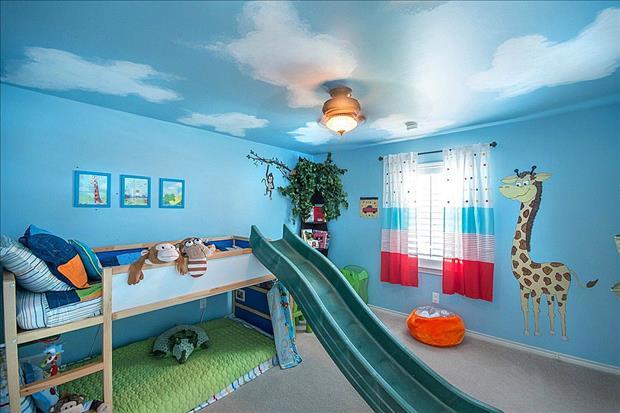Потрясающие идеи для оформления детских комнат