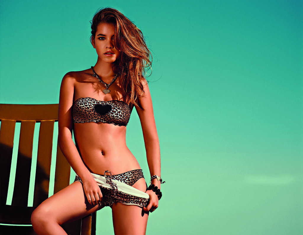 Barbara Palvin Bikinis for Twin Set Beachwear 2014