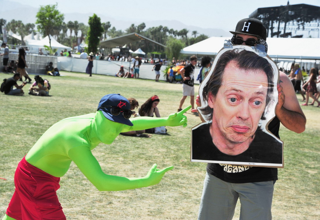 Музыкальный фестиваль Coachella 2014