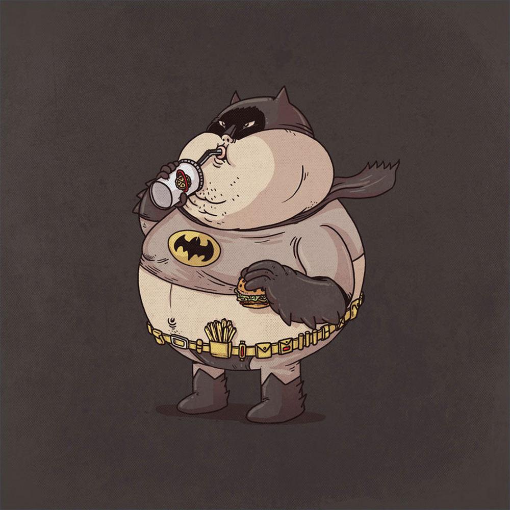 Супергерои-толстячки