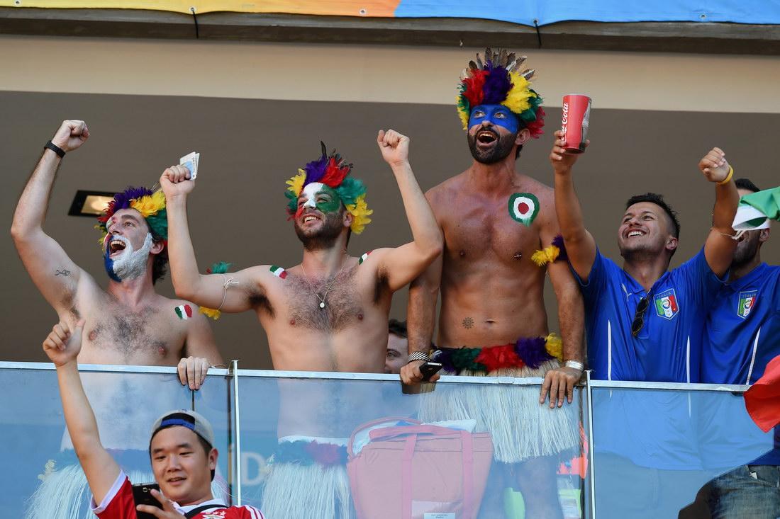 Болельщики с Чемпионата мира 2014