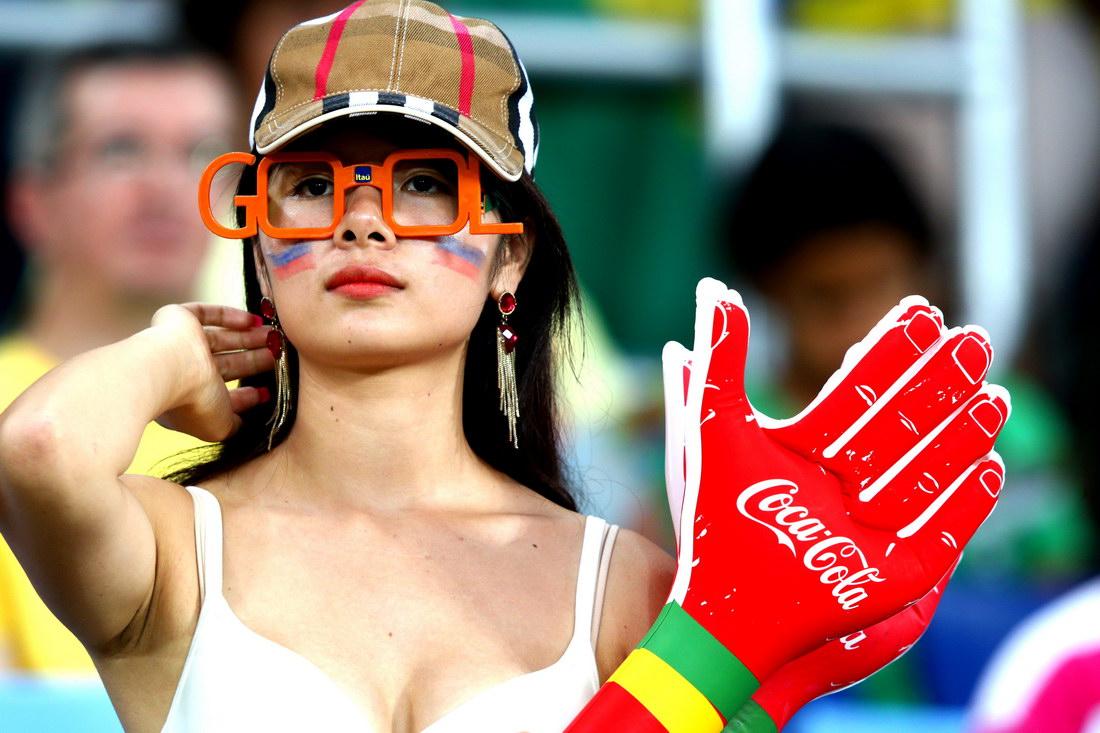 Девушки Чемпионата Мира 2014
