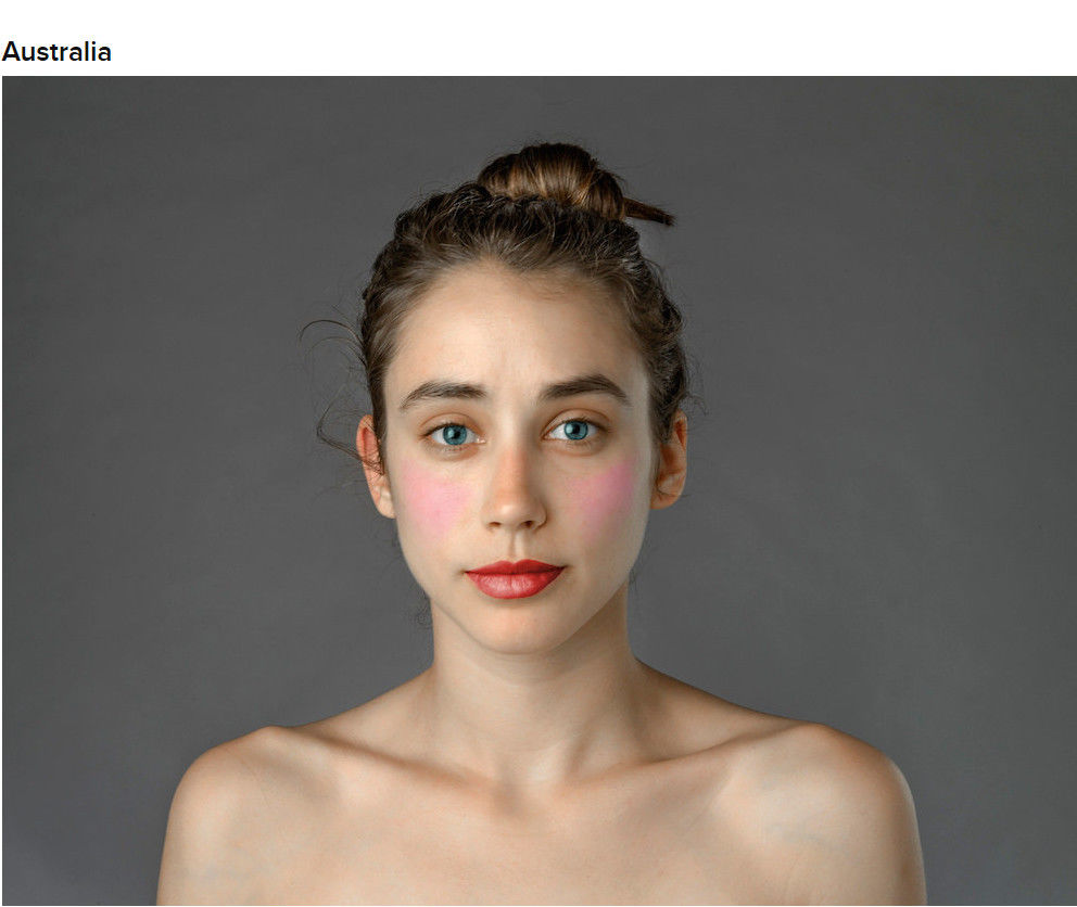 Стандарты красоты в разных странах