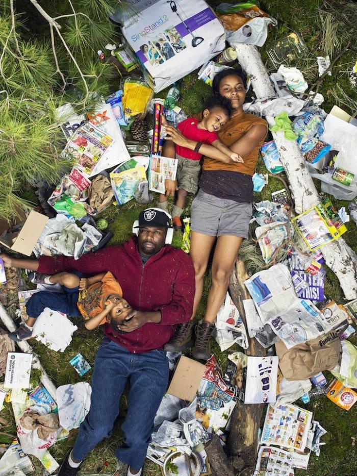 Фотопроект Семь дней мусора