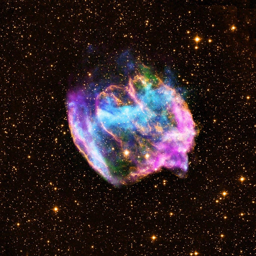 Лучшие космические снимки обсерватории Чандра