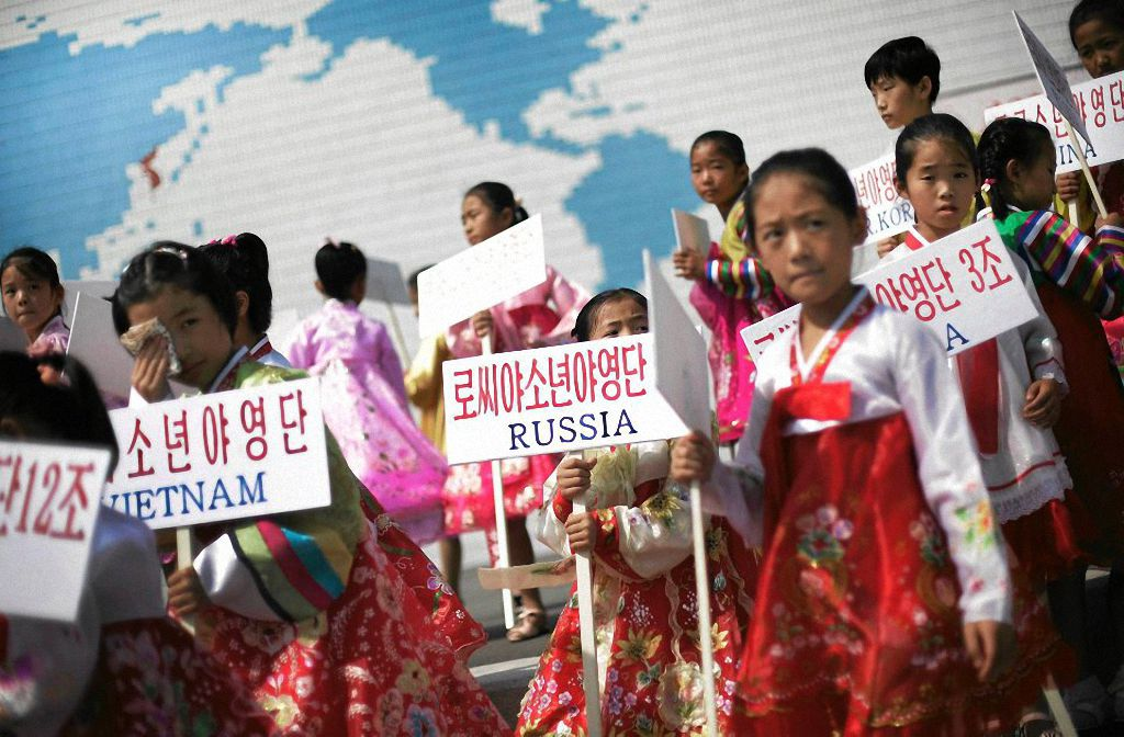 Летний детский лагерь в Северной Корее