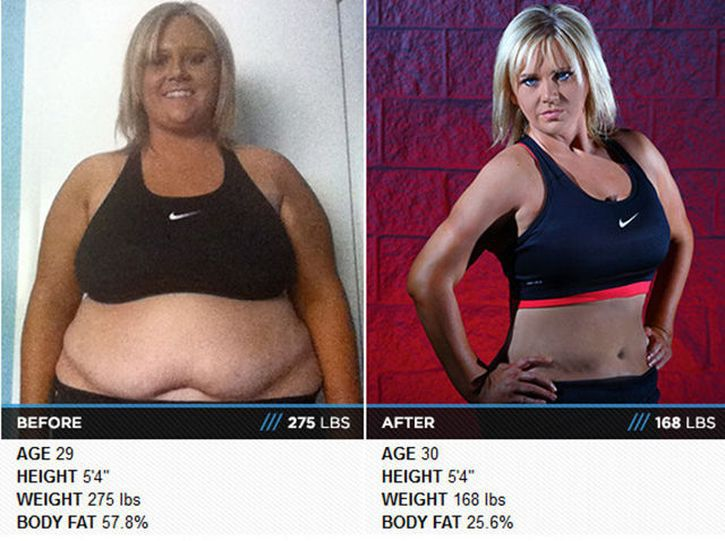Люди, которые похудели