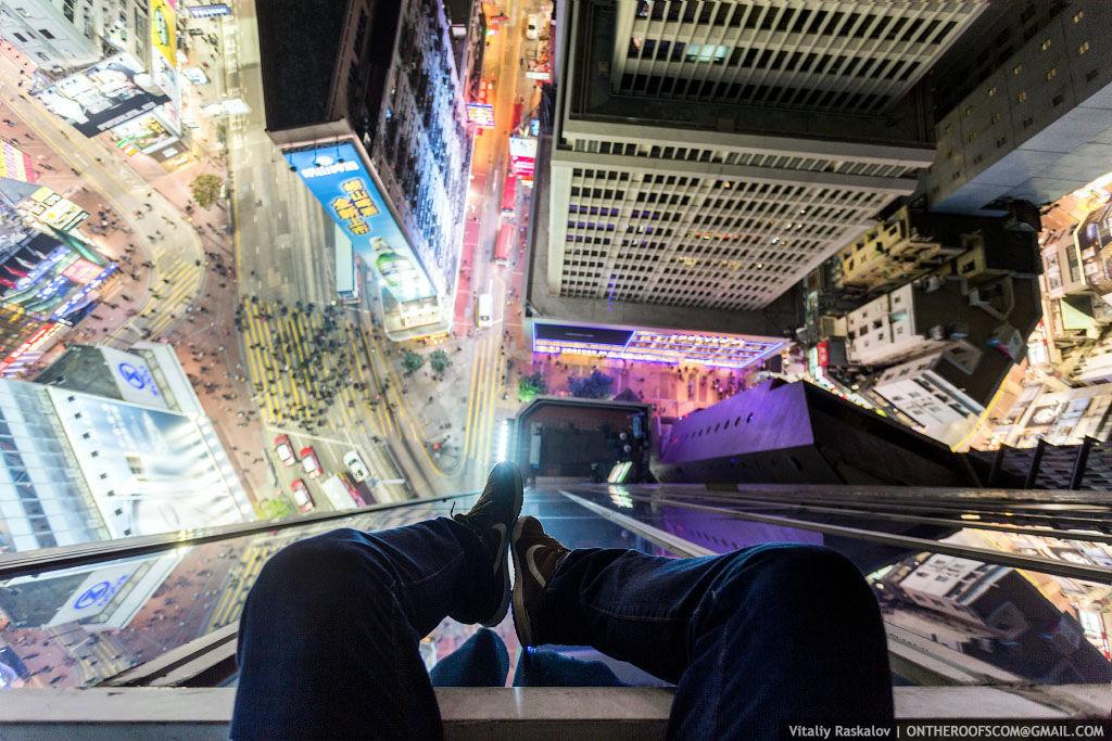 Головокружительные снимки на экстремальной высоте