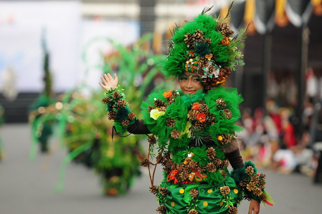 Jember Fashion Carnaval в Индонезии