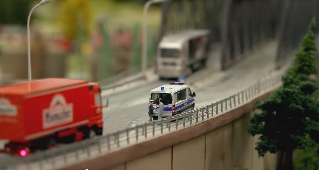 Cамая большая модель железной дороги в мире