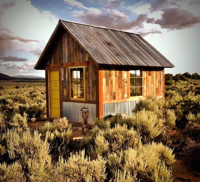 Маленькие, но уютные загородные дома