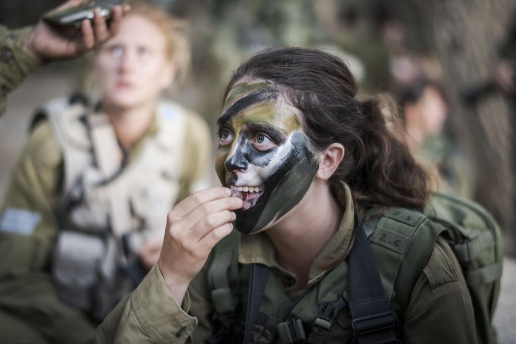 Девушки в армии Израиля