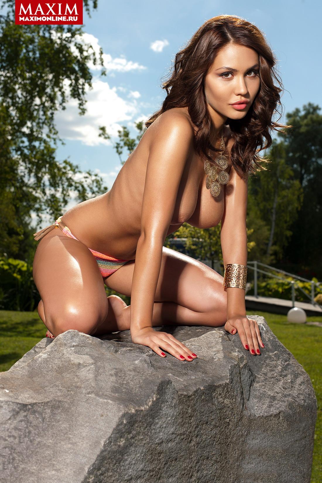 Финалистки Miss MAXIM 2014