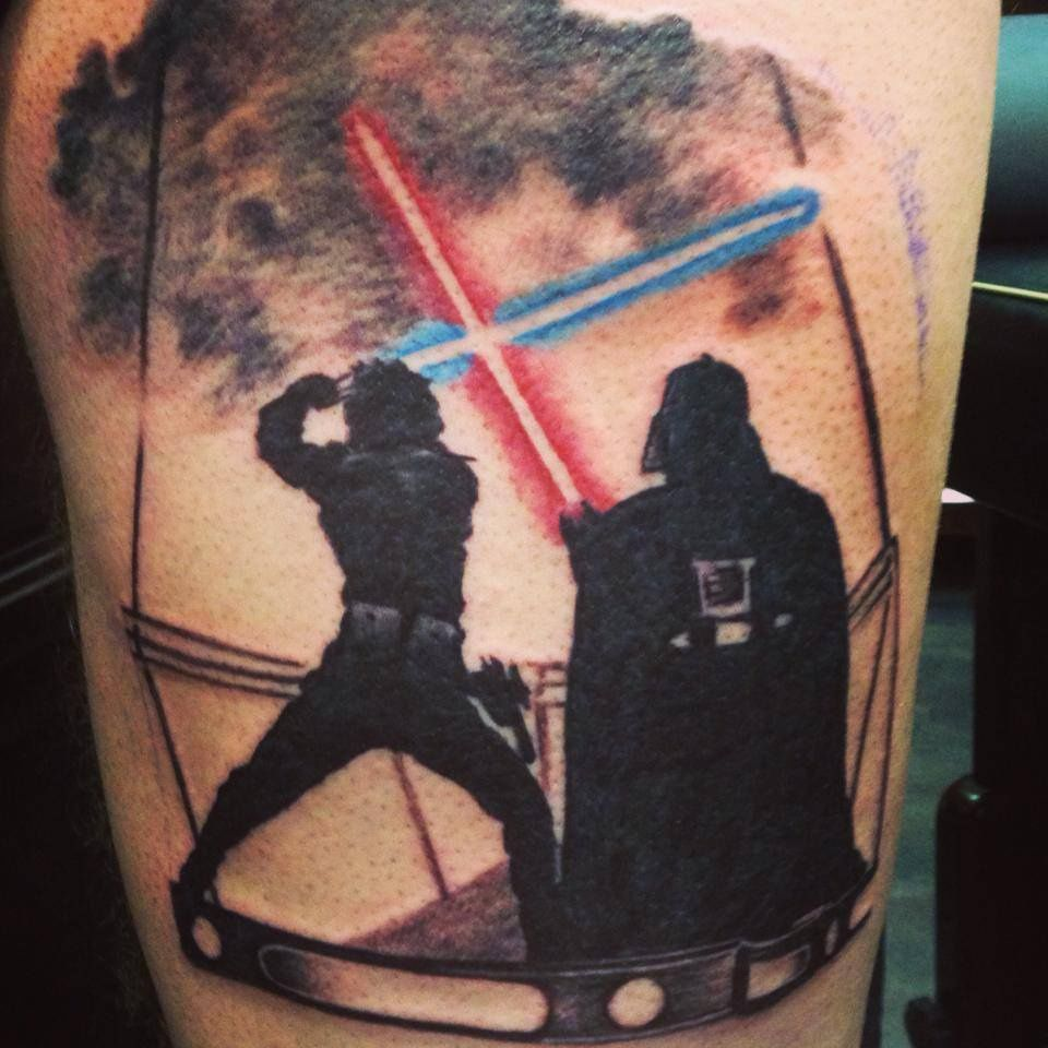Татуировки на тему Star Wars