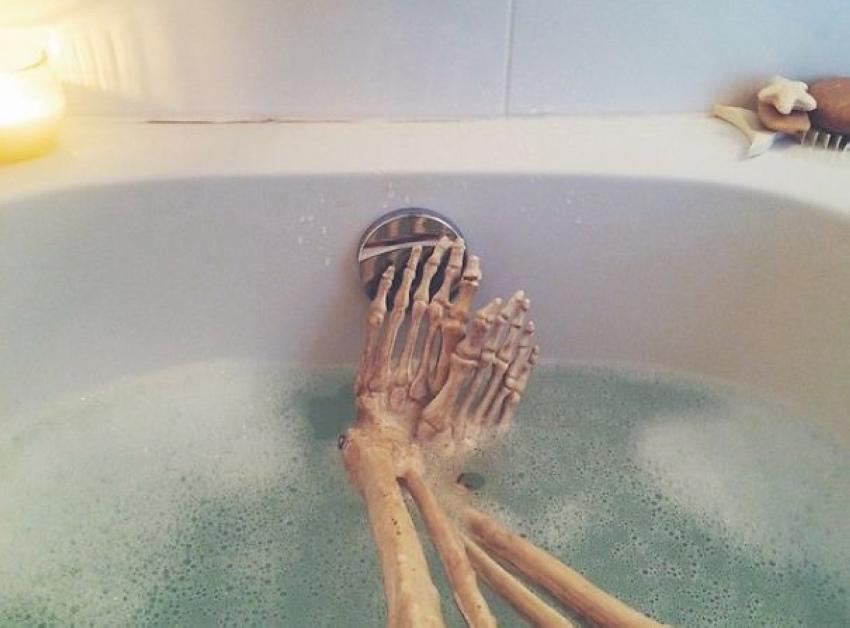 Даже у скелета есть свой instagram