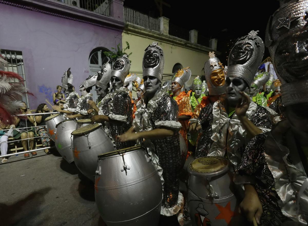 Карнавал Las Llamadas в Уругвае