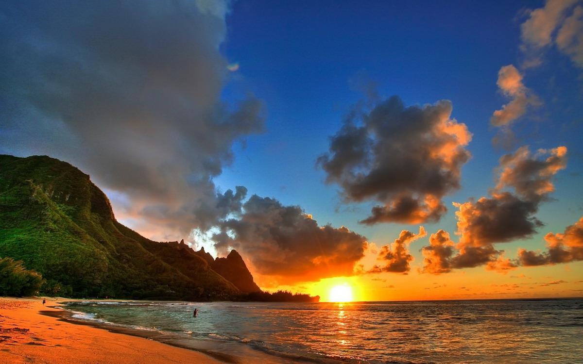 Красивейшие закаты