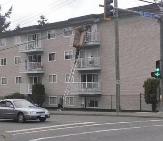 Эти люди явно ничего не слышали о технике безопасности