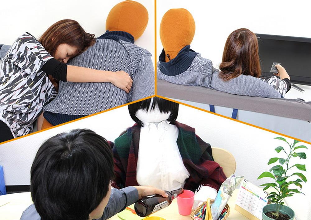 Новая японская мода Вязаный муж