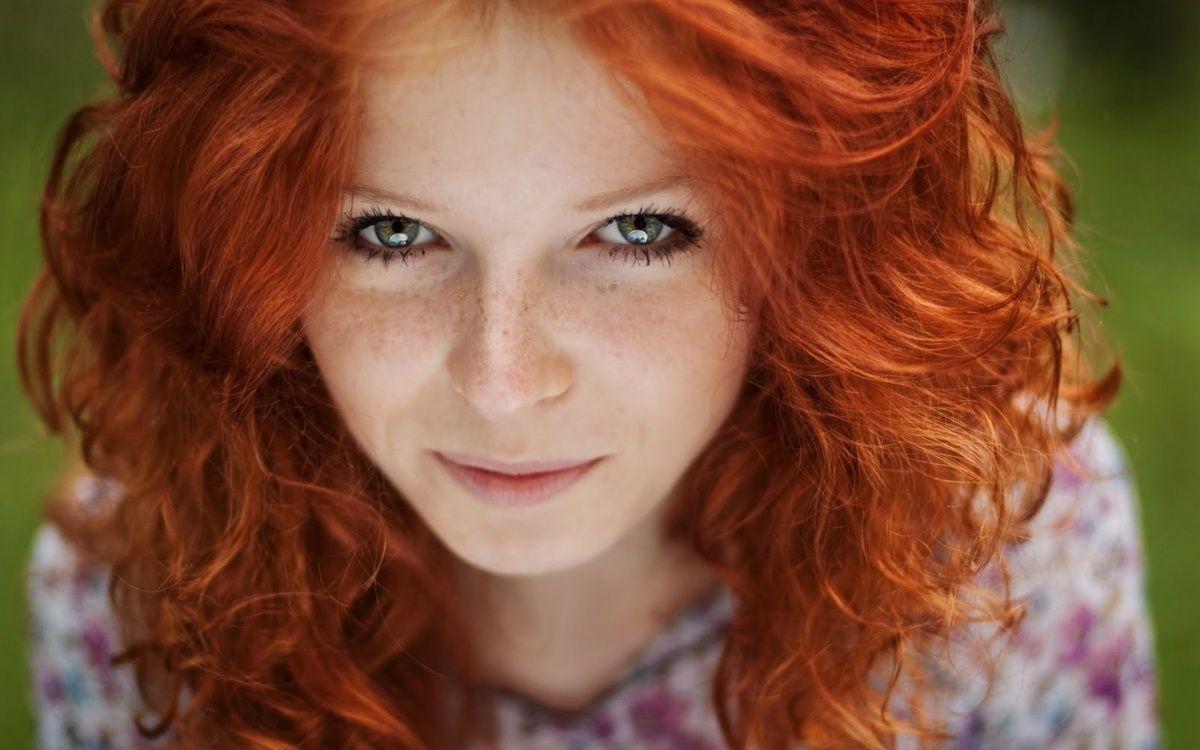 Хорошие фото девушек рыжих