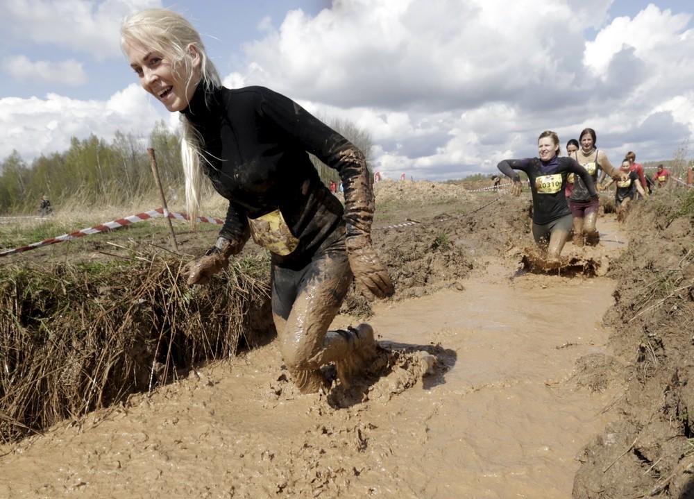 Гонка на выносливость в Латвии