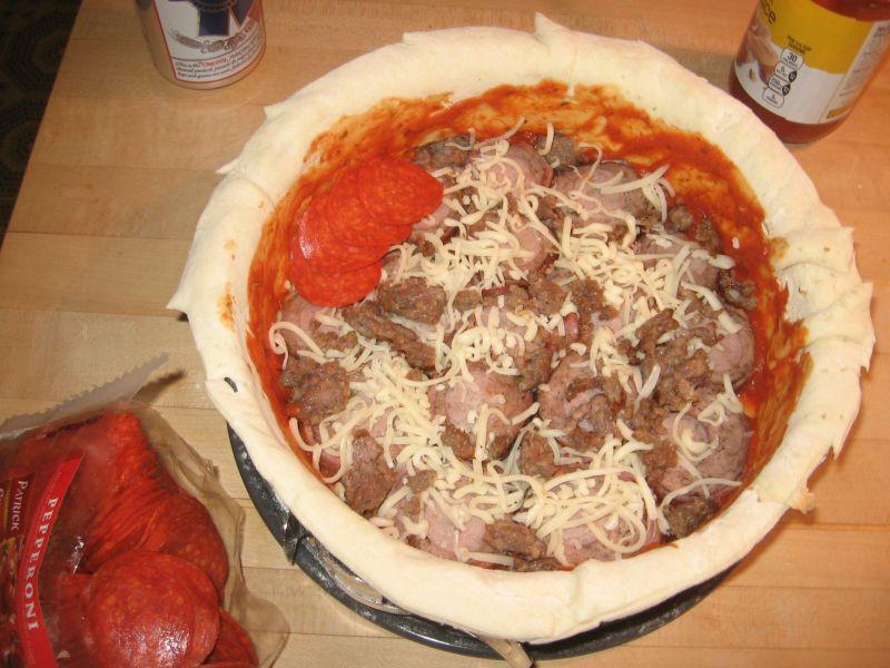 Настоящая мужская пицца