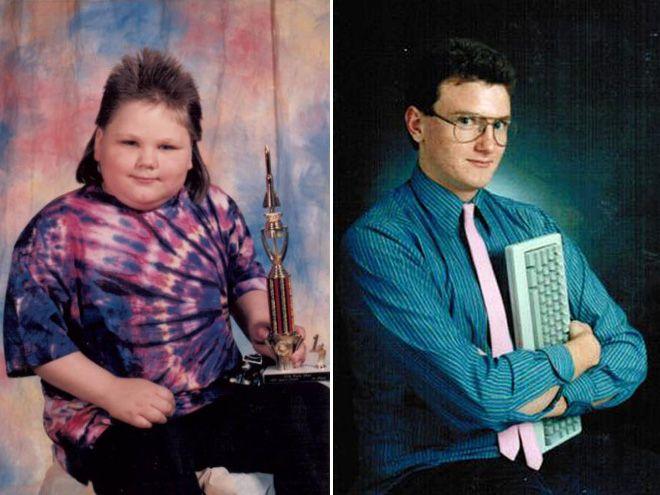 Идиотские фото из выпускных альбомов