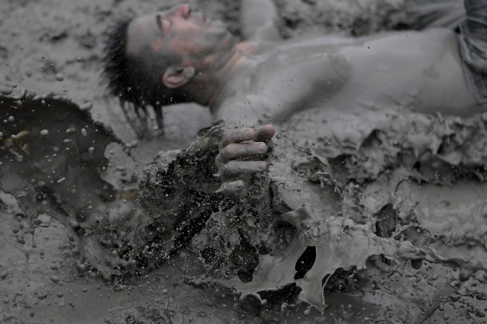 Ежегодный фестиваль грязи в Южной Корее