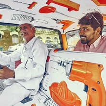 Дизайнерские салоны такси в Индии
