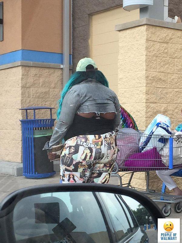 Неповторимые покупатели Walmart
